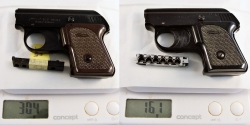 walther UP mod.2 _weight compare
